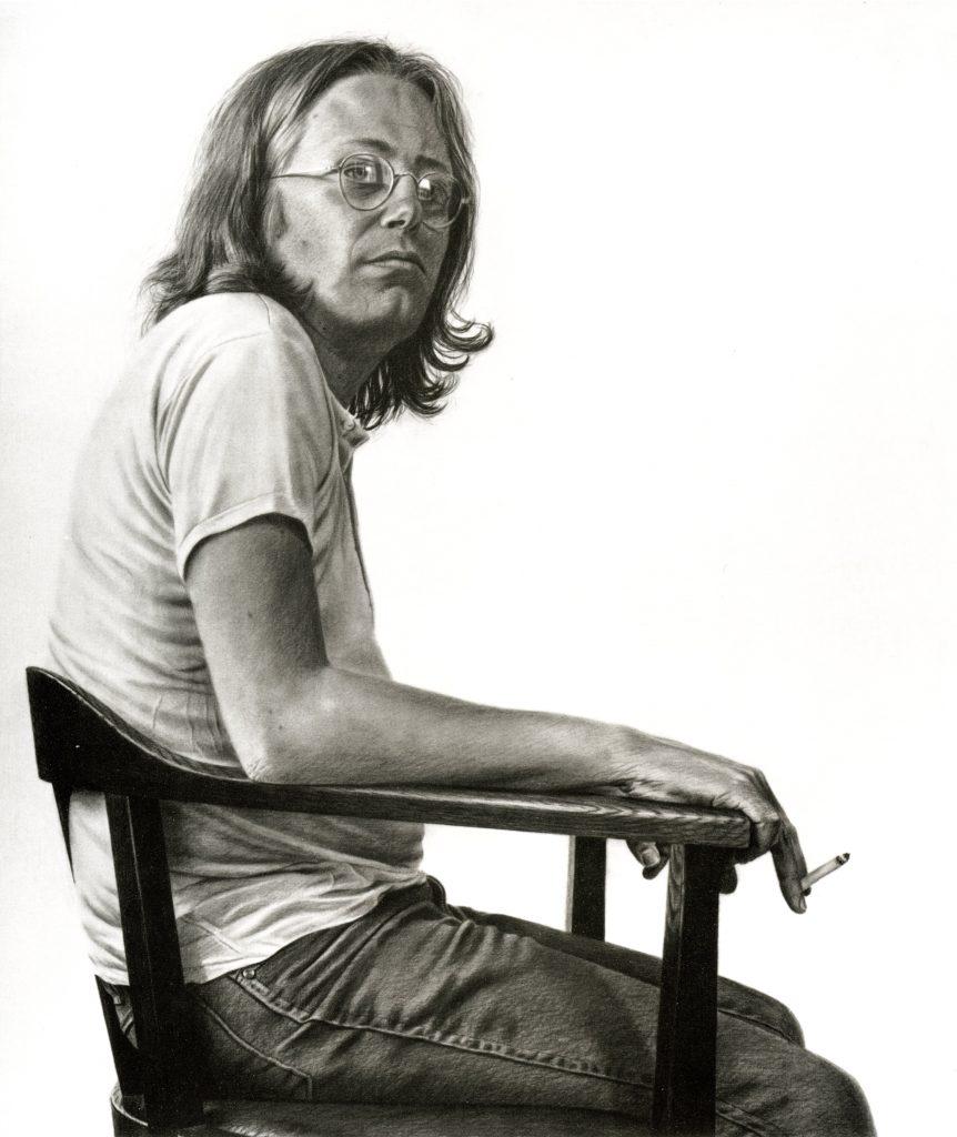 Horst Brandstätter, gemalt von Jan Peter Tripp, 1982